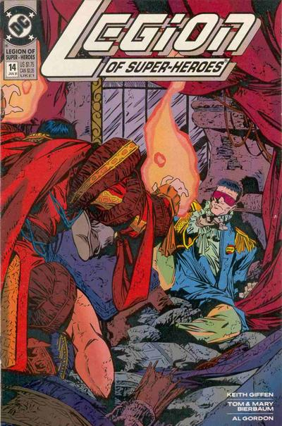 Cover for Legion of Super-Heroes (DC, 1989 series) #14