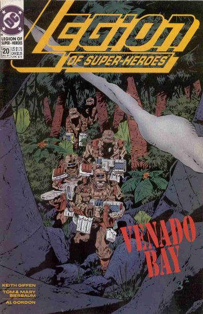 Cover for Legion of Super-Heroes (DC, 1989 series) #20