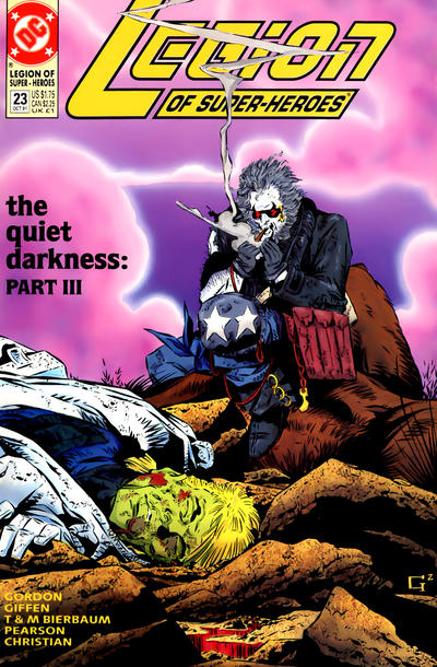 Cover for Legion of Super-Heroes (DC, 1989 series) #23