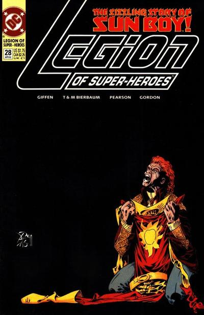Cover for Legion of Super-Heroes (DC, 1989 series) #28