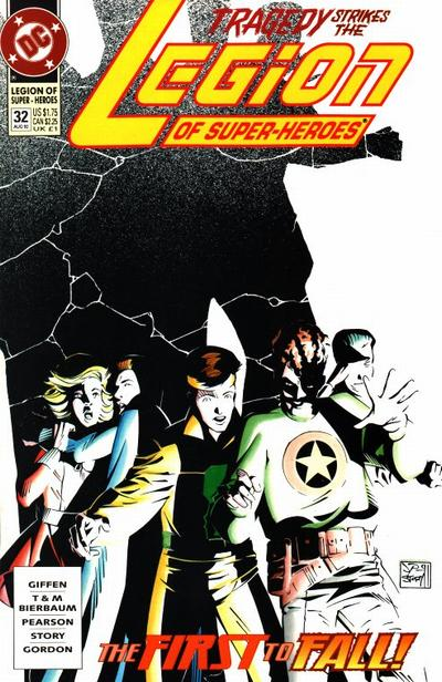 Cover for Legion of Super-Heroes (DC, 1989 series) #32