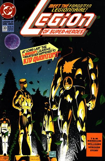 Cover for Legion of Super-Heroes (DC, 1989 series) #33