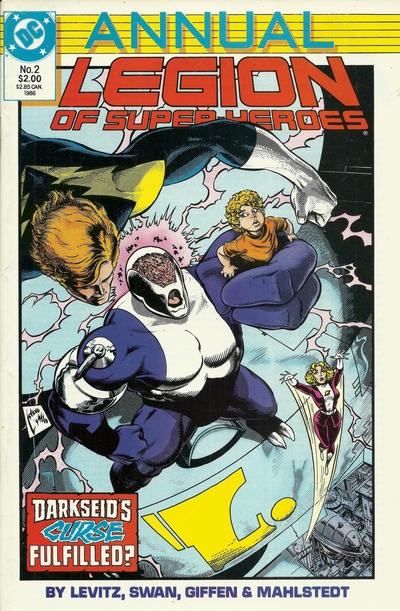 Cover for Legion of Super-Heroes Annual (DC, 1985 series) #2