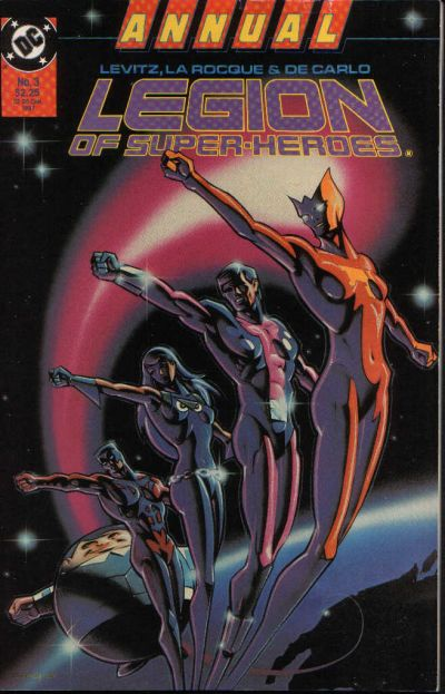Cover for Legion of Super-Heroes Annual (DC, 1985 series) #3