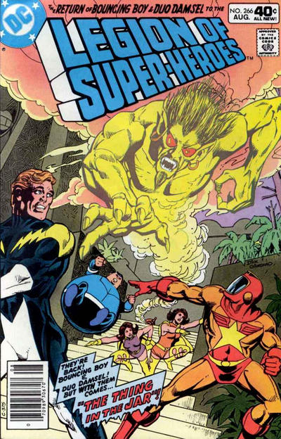 Cover for The Legion of Super-Heroes (DC, 1980 series) #266