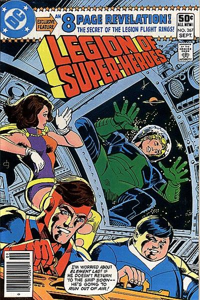 Cover for The Legion of Super-Heroes (DC, 1980 series) #267