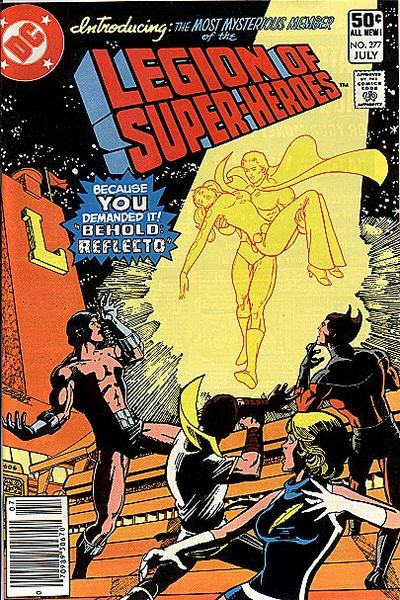 Cover for The Legion of Super-Heroes (DC, 1980 series) #277 [Direct]