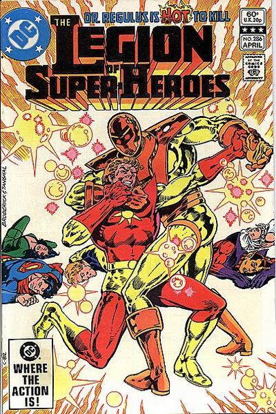 Cover for The Legion of Super-Heroes (DC, 1980 series) #286 [Direct]