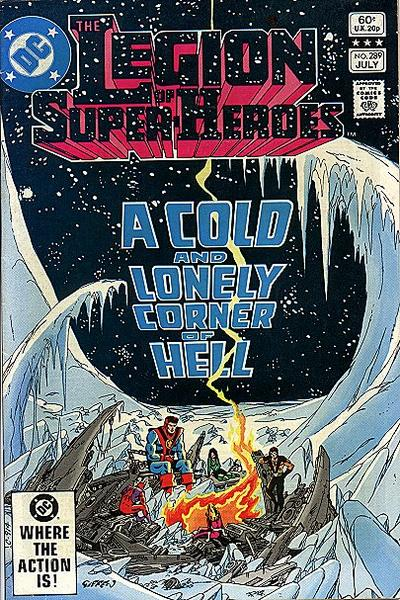 Cover for The Legion of Super-Heroes (DC, 1980 series) #289 [Newsstand]