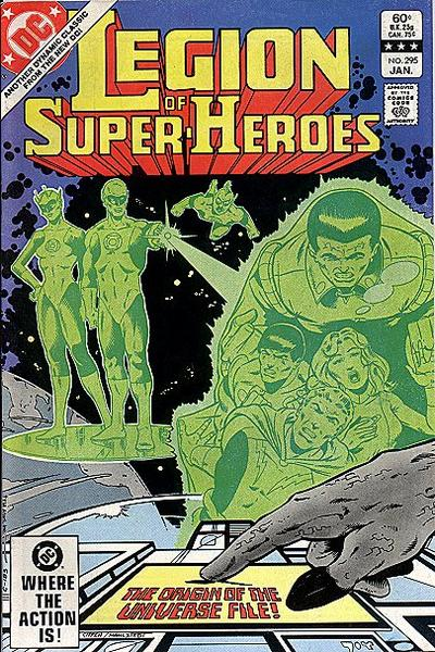 Cover for The Legion of Super-Heroes (DC, 1980 series) #295 [Direct]