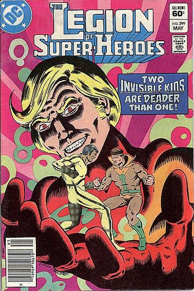 Cover for The Legion of Super-Heroes (DC, 1980 series) #299 [Direct-Sales]