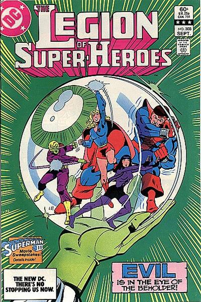 Cover for The Legion of Super-Heroes (DC, 1980 series) #303 [Direct]