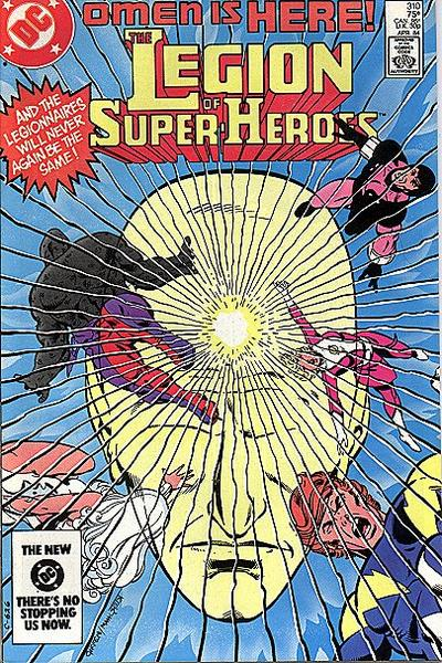 Cover for The Legion of Super-Heroes (DC, 1980 series) #310 [Canadian]