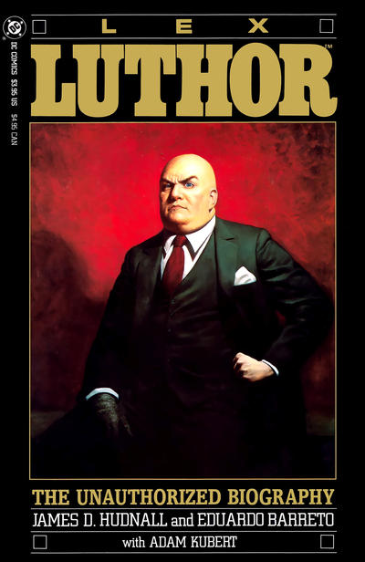 Cover for Lex Luthor: The Unauthorized Biography (DC, 1989 series)