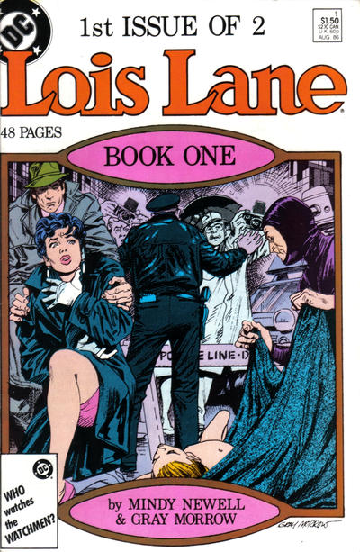 Cover for Lois Lane (DC, 1986 series) #1 [Canadian]