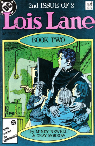 Cover for Lois Lane (DC, 1986 series) #2 [Canadian]