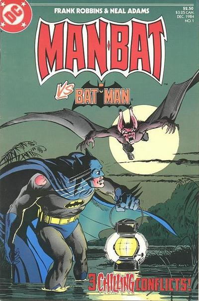 Cover for Man-Bat (DC, 1984 series) #1