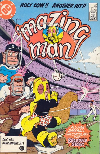 Cover for 'Mazing Man (DC, 1986 series) #6 [Direct Sales]