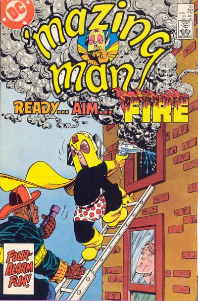 Cover for 'Mazing Man (DC, 1986 series) #10