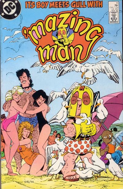 Cover for 'Mazing Man (DC, 1986 series) #11