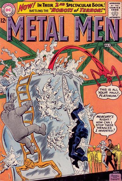 Cover for Metal Men (DC, 1963 series) #2