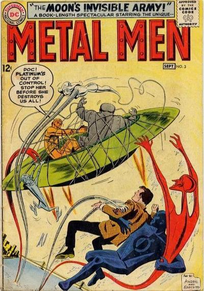 Cover for Metal Men (DC, 1963 series) #3