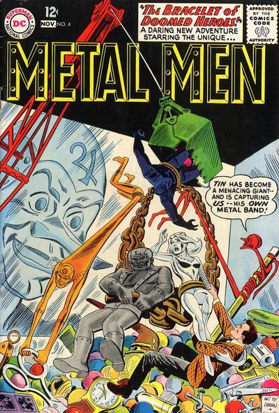Cover for Metal Men (DC, 1963 series) #4