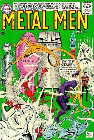 Cover for Metal Men (DC, 1963 series) #6