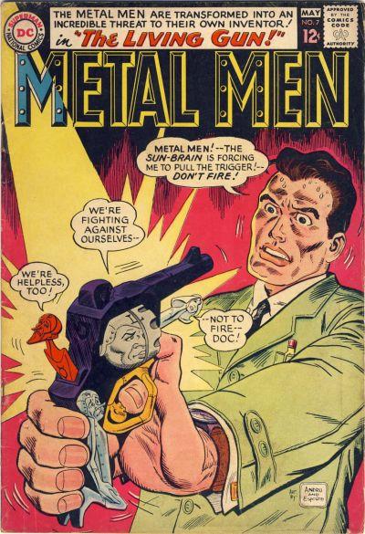 Cover for Metal Men (DC, 1963 series) #7