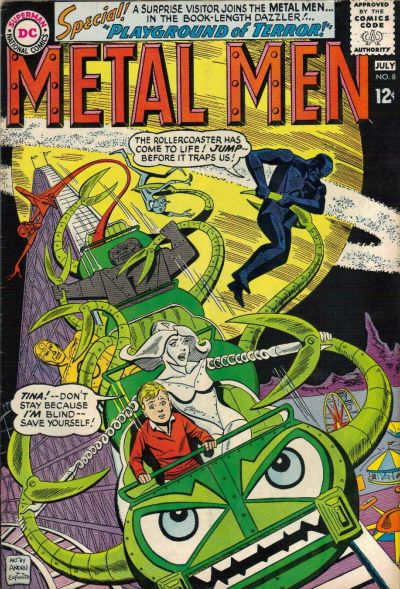 Cover for Metal Men (DC, 1963 series) #8