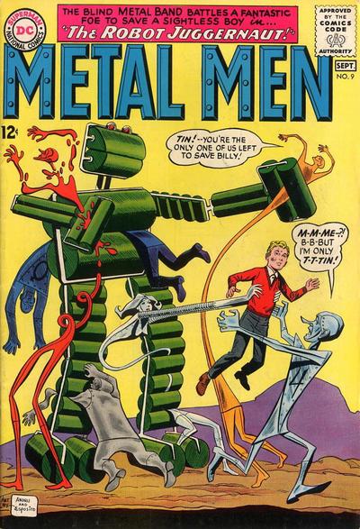 Cover for Metal Men (DC, 1963 series) #9