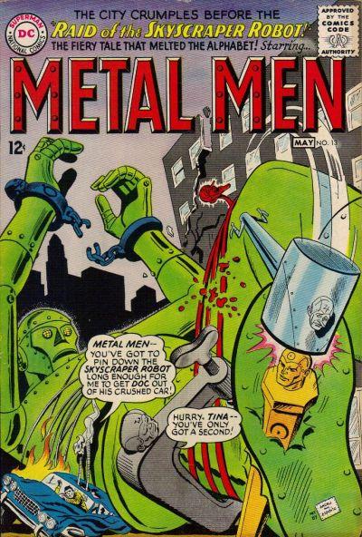 Cover for Metal Men (DC, 1963 series) #13