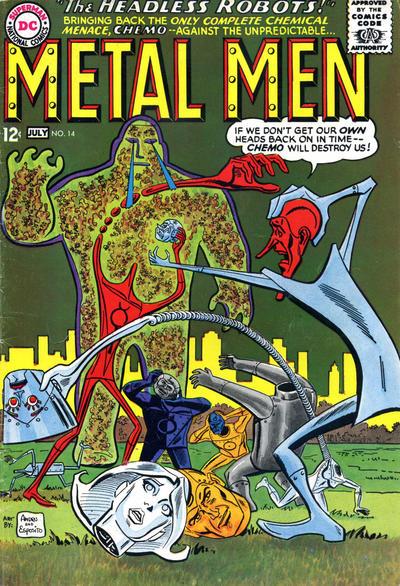 Cover for Metal Men (DC, 1963 series) #14