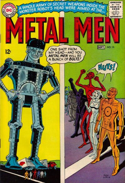 Cover for Metal Men (DC, 1963 series) #15