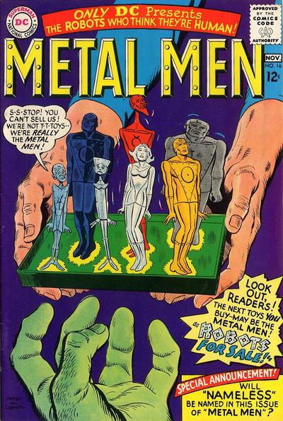 Cover for Metal Men (DC, 1963 series) #16