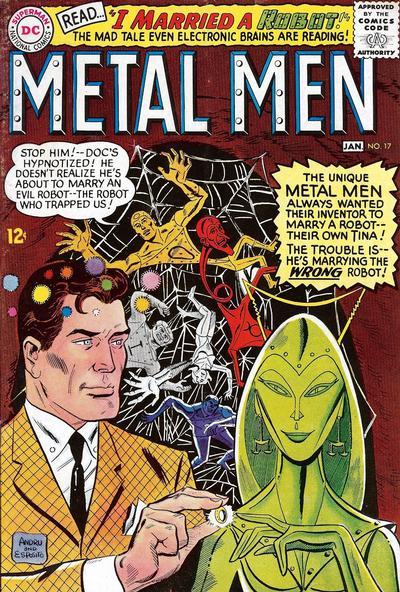 Cover for Metal Men (DC, 1963 series) #17