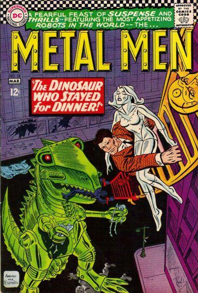 Cover for Metal Men (DC, 1963 series) #18