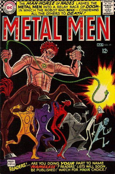 Cover for Metal Men (DC, 1963 series) #19