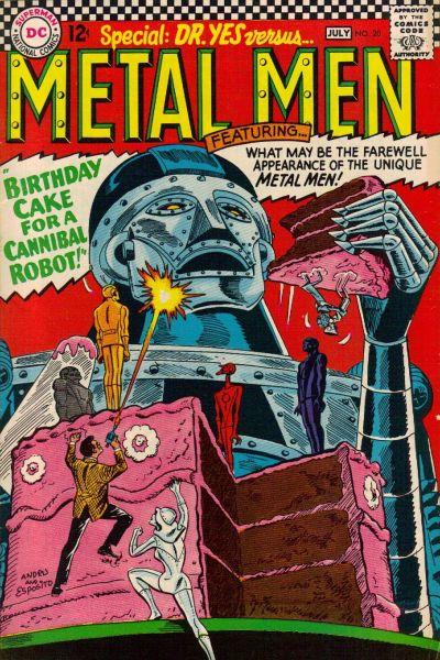 Cover for Metal Men (DC, 1963 series) #20