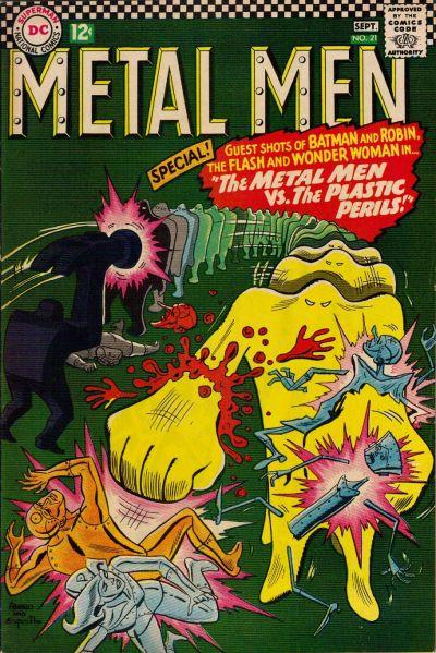 Cover for Metal Men (DC, 1963 series) #21