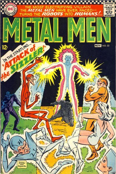 Cover for Metal Men (DC, 1963 series) #22