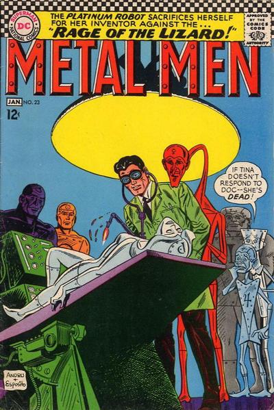 Cover for Metal Men (DC, 1963 series) #23