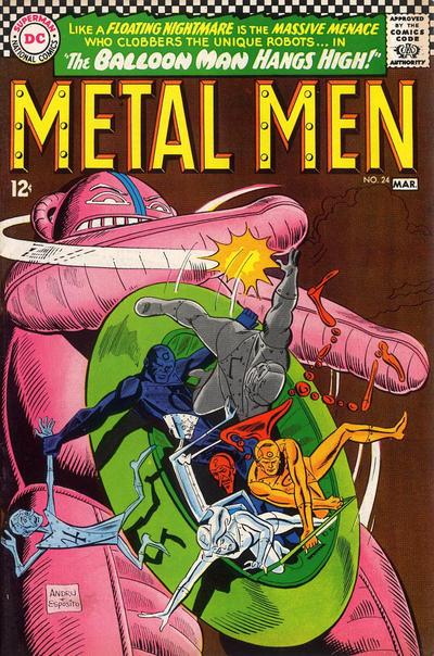 Cover for Metal Men (DC, 1963 series) #24