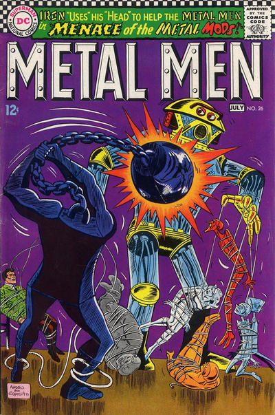 Cover for Metal Men (DC, 1963 series) #26