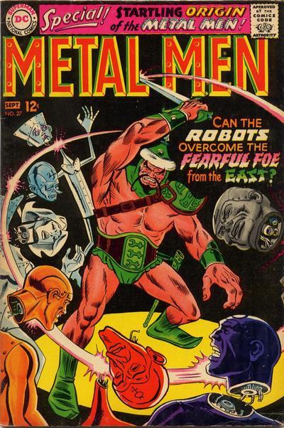 Cover for Metal Men (DC, 1963 series) #27