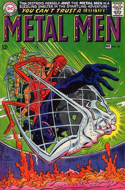 Cover for Metal Men (DC, 1963 series) #28