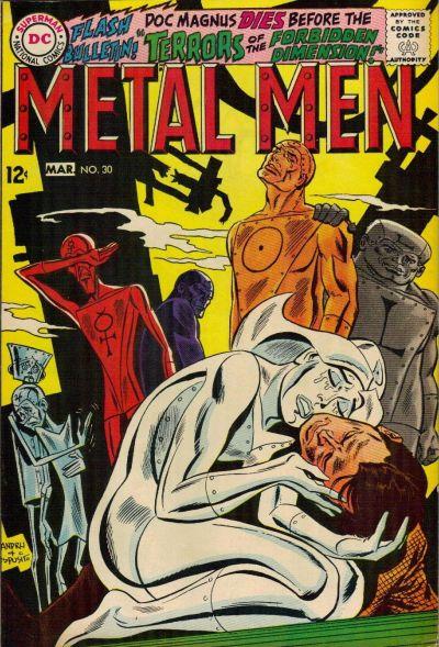 Cover for Metal Men (DC, 1963 series) #30