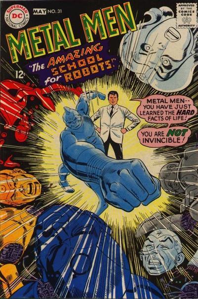Cover for Metal Men (DC, 1963 series) #31
