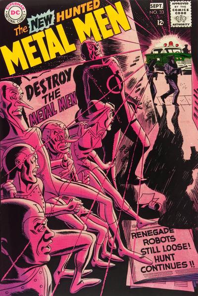 Cover for Metal Men (DC, 1963 series) #33