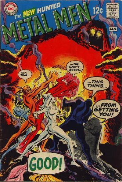 Cover for Metal Men (DC, 1963 series) #35